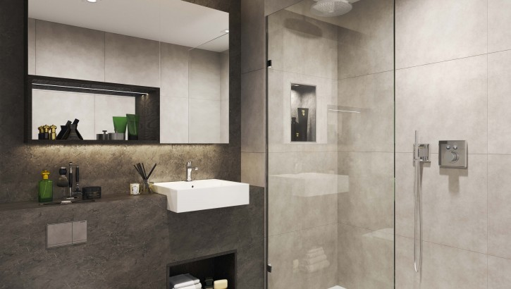 The Teil Collection  Shower_room Black Mountain