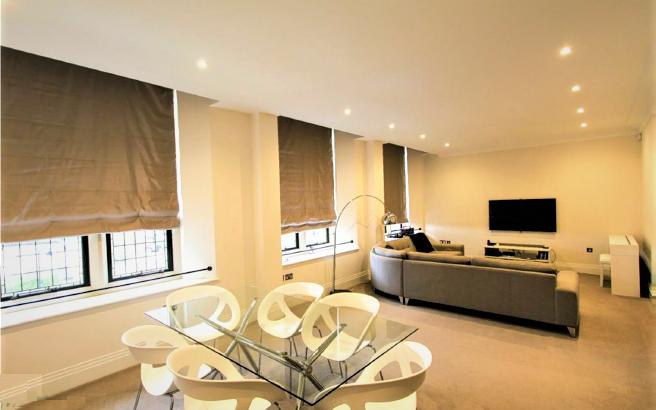 Flat 13- Living Room