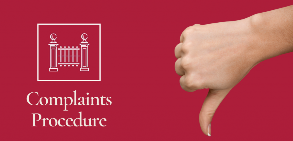Hampstead Heathgate Estate Agents Complaints Procedure complaints procedure has been designed to ensure that concerns are dealt with as quickly & efficiently as possible.