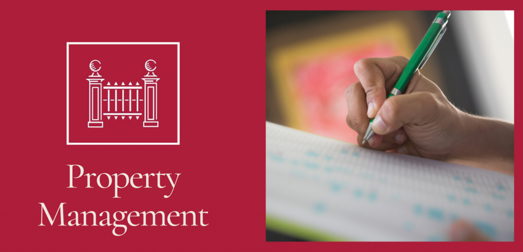 Property Management Services Division by Heathgate a checklist that reassures landlords